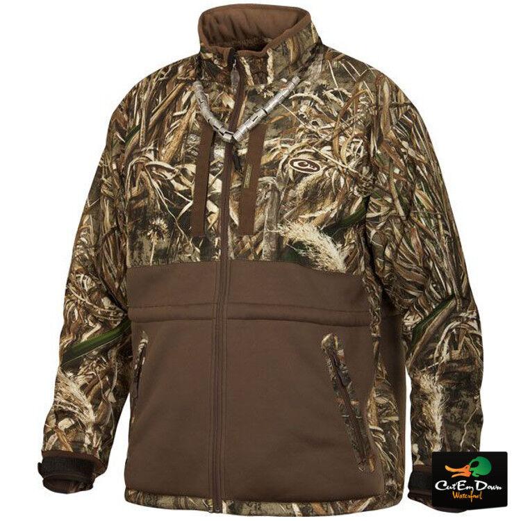 Drake Waterfowl Lst Heavyweight eqwader Full Zip chaqueta max-5 Camo 2xl