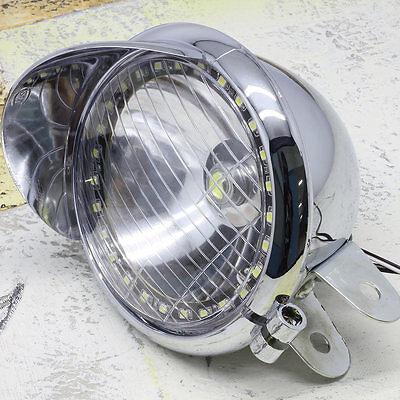 Fashion Motorcycle Headlight Lamp LED For Harley Kawasaki Yamaha Suzuki
