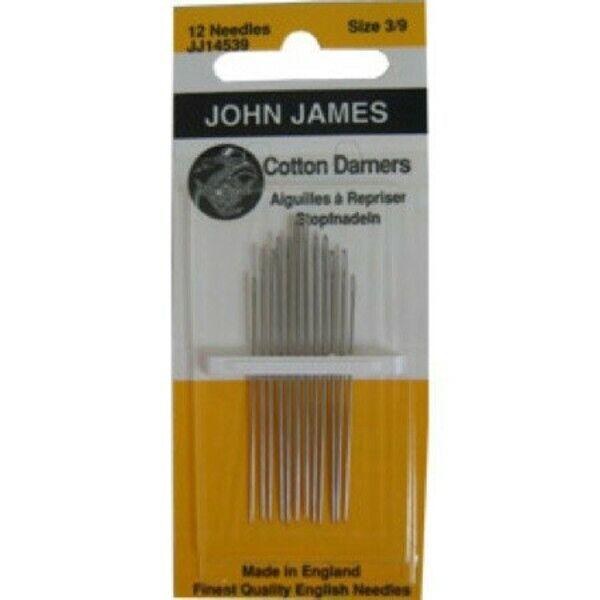 JOHN JAMES JJN16539  NEEDLE LONG DARNER SZ 3-9 6PC
