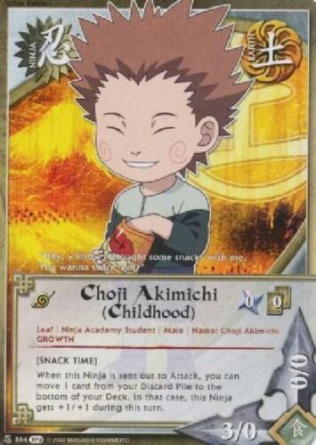 Snack Time - Foil NM Childhood 2x Choji Akimichi