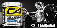 Cellucor C4 G4 Pre-workout 30 Servings + Free Shipping
