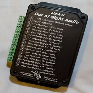 Out Of Sight Audio Mark 2 Secret Audio Device Hidden