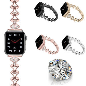 Stainless-Steel-Bracelet-Wrist-Band-Strap-For-Apple-Watch-Series-5-4-3-2-40-44mm