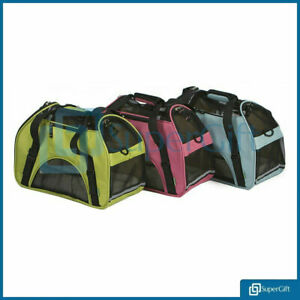 LARGE-Pet-Carrier-Bag-AVC-Portable-Soft-Fabric-Folding-Dog-Cat-Puppy-Travel