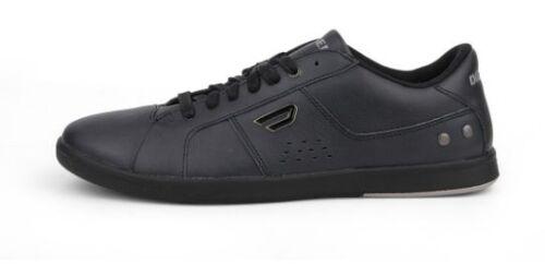 Black Leather Lifestyle Shoes DIESEL Y00985 P0371 T8013 GOTCHA Mn/'s M