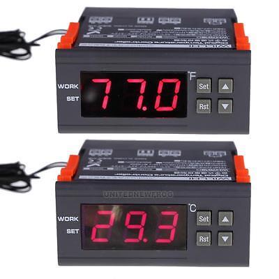 12/24V 110/120V Digital Temperature Controller Thermostat Range -30-300 Celsius