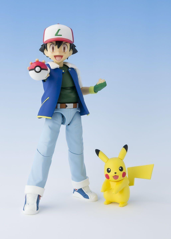 Bandai S.H.Figuarts Pokemon Ash Ketchum & Pikachu Japan version version version 6ed733