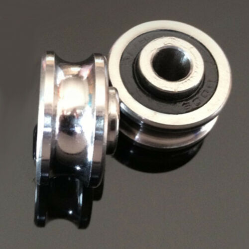 5pcs new SG25 U Groove 8*30*14mm Sealed Ball Track Guide Bearing textile