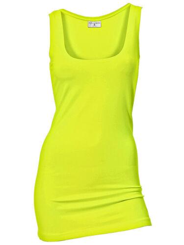 Rick Cardona Damen Shirttop Top Shirt Unterziehtop ärmellos gelb 085367