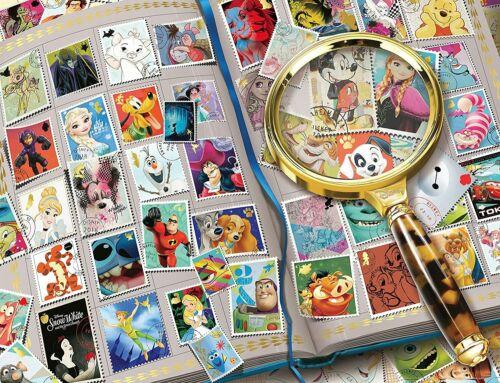 NOUVEAU Ravensburger Disney Mon préféré timbres 2000 piece Jigsaw Puzzle
