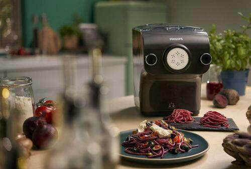 Philips Pasta Maker HR2382//15 automatique électrique nouilles Ramen Udon Maker Noir