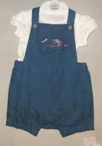 **BNWT** REDUCED MARKS /& SPENCER TOP /& SHORTS SET ~ 100/% COTTON ~ 0-3 months