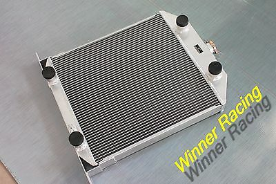 56mm Aluminum Alloy Radiator Fit Ford Car W//Flathead V8 Engine M//T 1949-1953