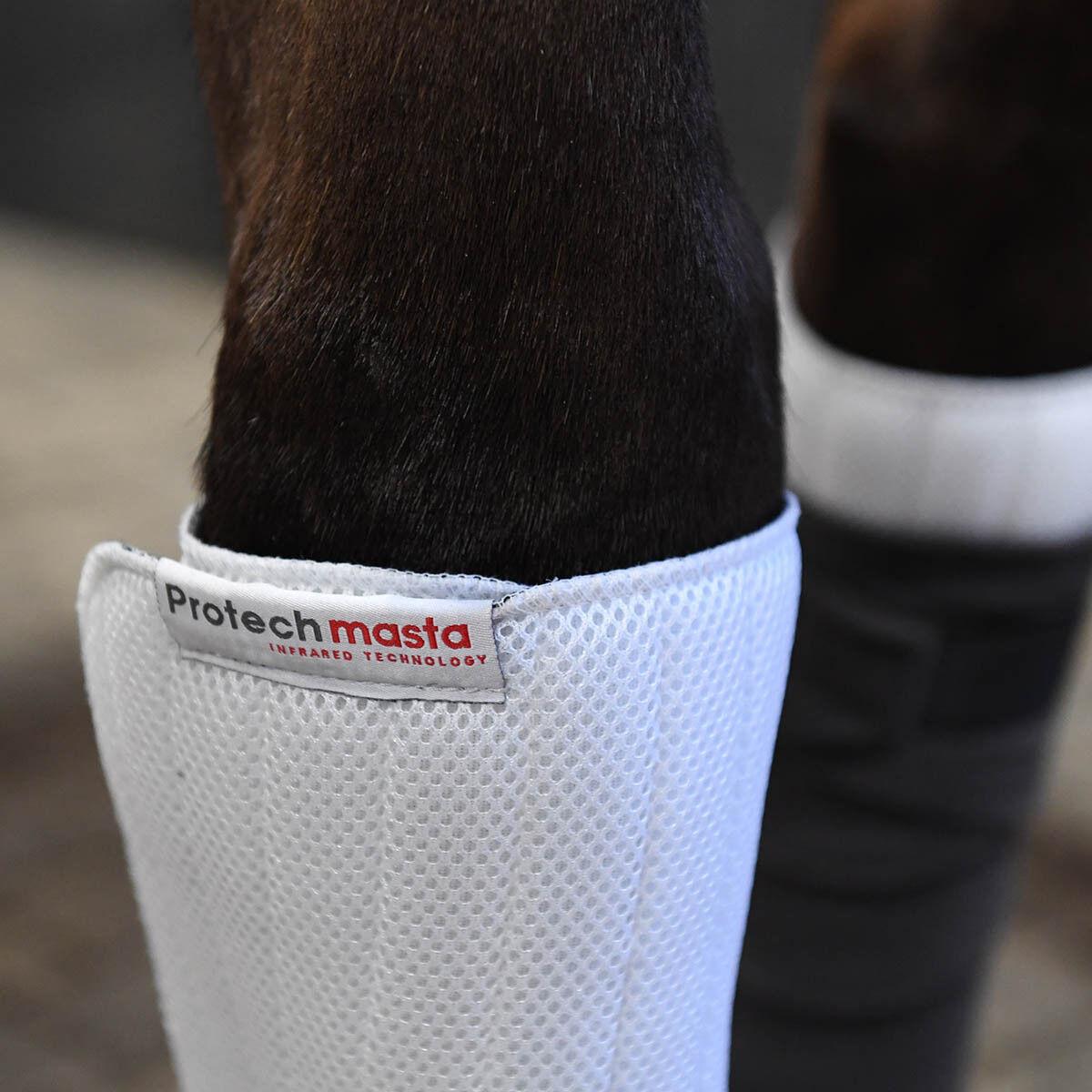 Predechmasta Infrared Leg Pads Set of 2 White