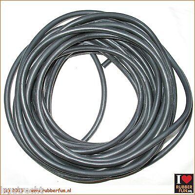 1m Length 4*6mm Medical Rubber Hose Amber Latex Tube Bleed Tube Pip
