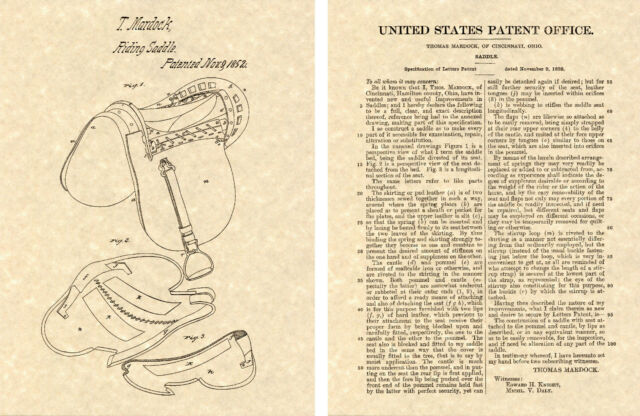 US PATENT for CROQUET Vintage Art Print READY TO FRAME! game ball mallet wicket