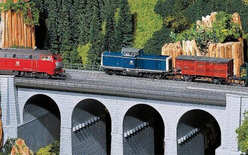 FALLER 120477 viaduc pont précisément longueur 188mm largeur 71mm hauteur 65mm NEUF /& OVP