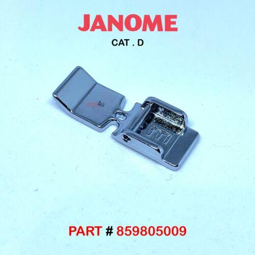 Genuine JANOME 9MM WIDE FOOT FEET Fits ELNA /& JANOME CAT D Machines