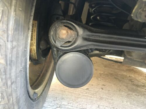 PAIR SMART CAR  CHASSIS END CAPS