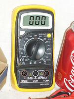 Brand Digital Lcd Dvm Vom Handheld Multimeter Meter Back Lit Lite Light Usa