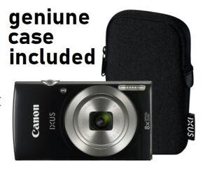 Camara-Digital-Canon-IXUS-185-20MP-Zoom-8-Compacta-de-2-7-pulgadas-LCD-Estuche-Original