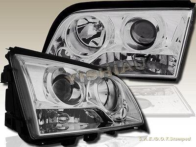 NEW 94-00 Mercedes S Benz C-Class W202 4 Door Sedan Projector Headlights Chrome