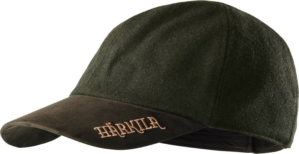 New  Härkila Cap Metso Active - Willow Green - with Leather