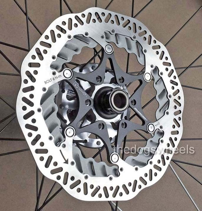 Jagwire Elite CR1 Vented Cooling Fins Floating Disc Brake redor 180mm MTB Bike