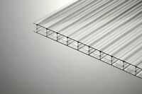 16mm Clear Triple Wall Polycarbonate Sheet 4000mm Long X1000mm Wide Stock Sale