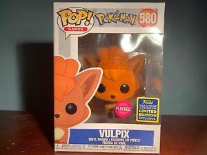 Funko POP! - Pokemon - SDCC 2020 Exclusive Vulpix (Flocked)