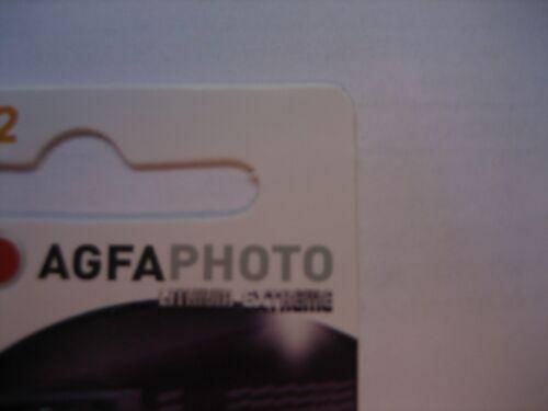 CR2032 3.0 V Knopfzelle  ORIGINAL AGFA PHOTO  BATTERY Lithium Photo Batterien