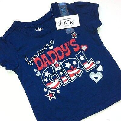 "~NEW~ /""Daddy/'s Little PRINCESS/"" Girls Shirt 12-18 24 Months 2T 4T 5T GIFT Dad"