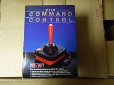 NEW NOS 1982 Wico ATARI COMMODORE Command Control Joystick 15-9714 CASE FRESH