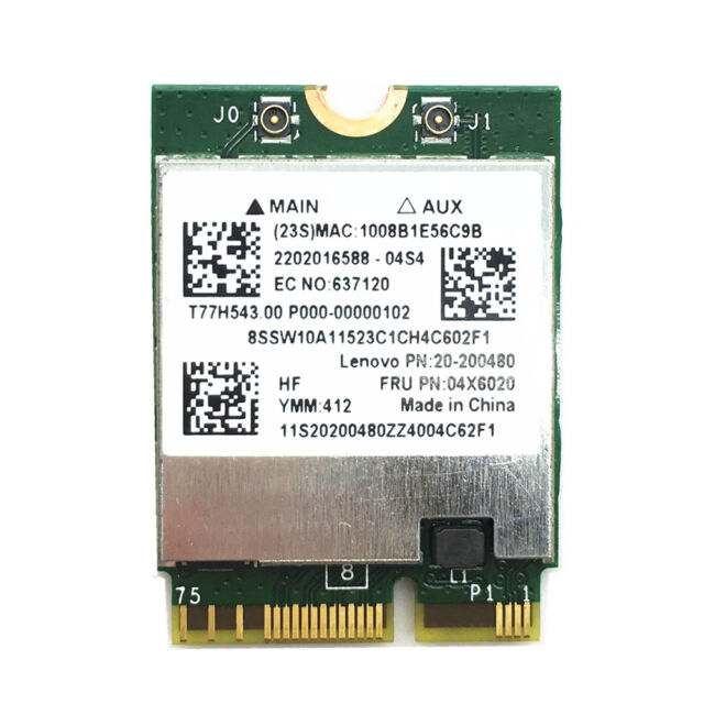Broadcom BCM94352Z 802 11ac WIFI CARD For LENOVO PRO Y50-80 Y50-70 Touch  04X6020
