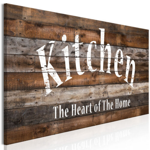 KITCHEN Canvas Print Framed Wall Art Picture Photo Image m-A-0963-b-a