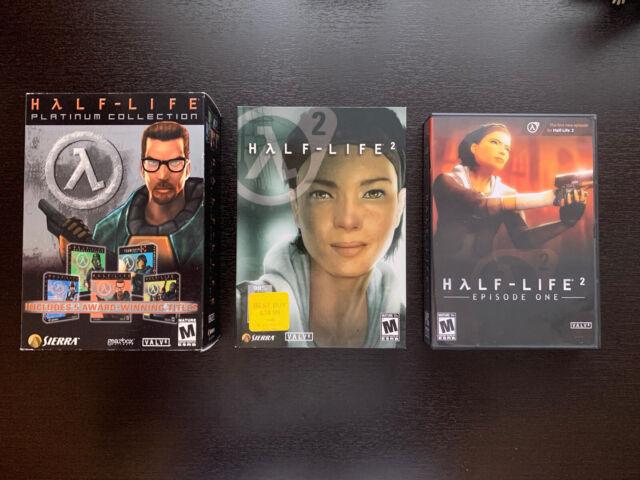 Half-Life Platinum Collection PC  Half-Life 2 (Alyx Box) And Episode 1!