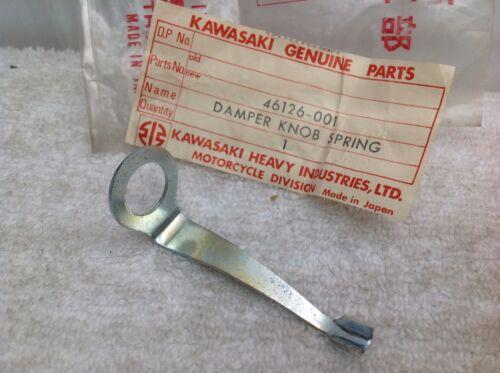 NOS New OEM Kawasaki Steering Damper Knob Spring 1969-1972 H1 H2 S2 S1 46026-001