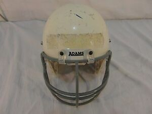Adams-USA-White-Youth-Football-Helmet-great-4-Projects-Paint-decorate-man-cave