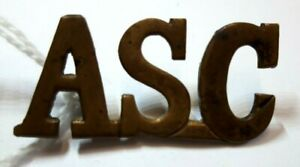 Shoulder title Army Service Corps WW1