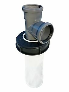 IBC Deckelfilter Regenwasserfilter Wasserfilter DN 150 HT Abzweig DN 75