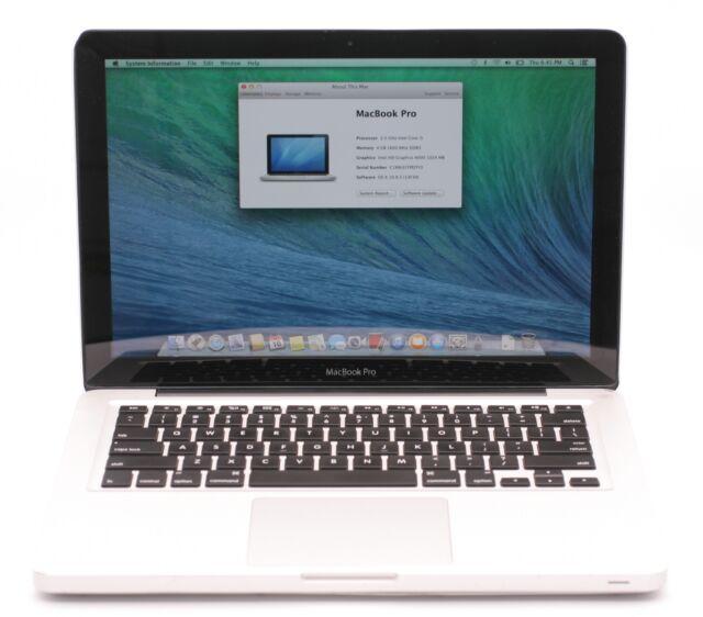 "Apple MacBook Pro 13.3"" Mid 2012 Laptop 2.5GHz Intel Core i5 4GB 500GB MD101LL/A"