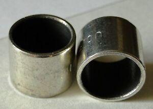FOX DVO Manitou shock bushes 12.7mm polymer DU eyelet bushes x 2