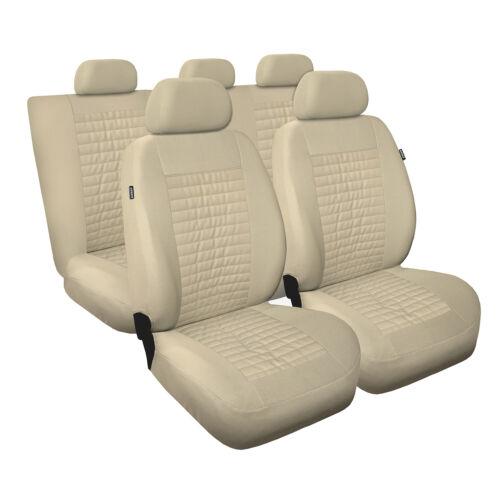 Universal Autositzbezüge für Ford Ka Beige Sitzbezug Autositz Schonbezüge Bezug