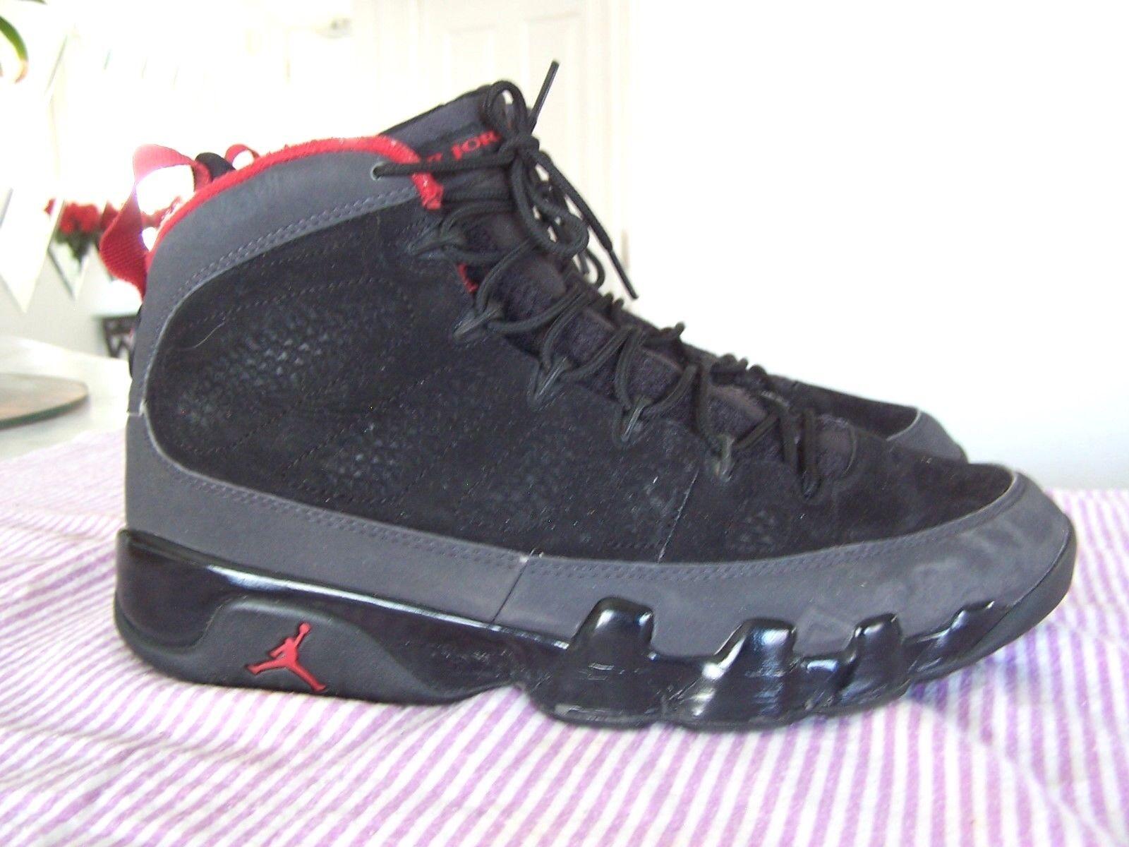 AIR JORDAN 23 Mens Black Retro 302370-005 Charcoal Shoes Size 10 (2010)