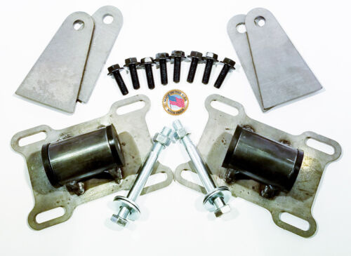 Universal Engine Mount Adapter Swap Kit GEN5 LT LT1 LT4 L83 L86 5.3 6.2 #17041A