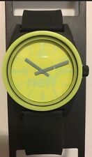 New Neff Daily Duo Watch, streetwear accessories wrist watch Color:Black/Green