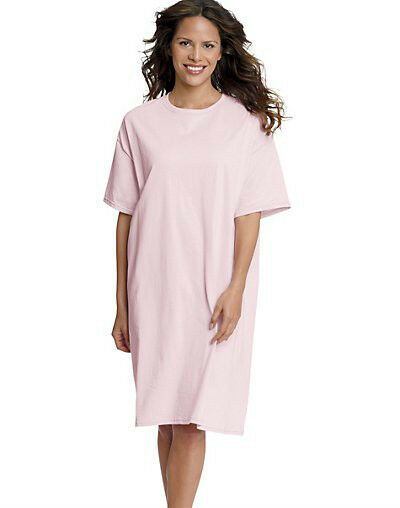 HANES WEAR AROUND ROMPER LOUNGER SLEEPWEAR OVERSIZED SHIRT 5660
