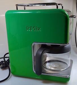 kenwood kmix retro designer kaffeemaschine gr n cm 025 boutique serie ebay. Black Bedroom Furniture Sets. Home Design Ideas