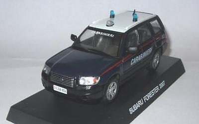 l/' Italien Carabinieri 1:43 SCALE MODEL Subaru Forester 2007