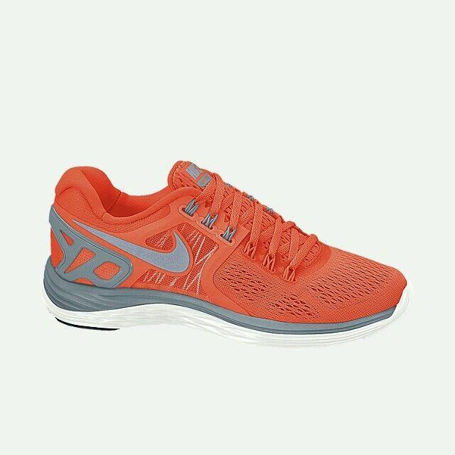 Nike Femmes lunareclipse 4 runningtrainers hypercrimson / magnetGris / sommet blanc